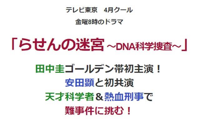 らせんの迷宮~NNA科学捜査~