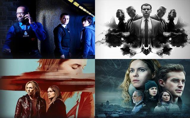 海外ドラマ,Netflix,刑事